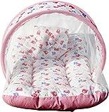 #10: MY NEWBORN® Baby Cotton Bedding Set with Mosquito Net