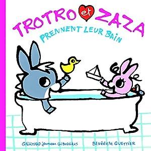 "Afficher ""L'Ane Trotro<br /> Trotro et Zaza prennent leur bain"""