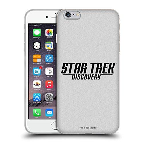 Officiel Star Trek Delta Discovery Logo Étui Coque en Gel molle pour Apple iPhone 5c Noir Et Blanc