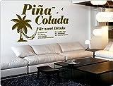 dekodino Wandtattoo Cocktail Pina Colada