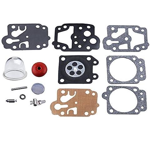 HIPA K20-WYJ Kit Joint avec Pompe d'Amorçage Vis pour Carburateur Série Walbro WYL