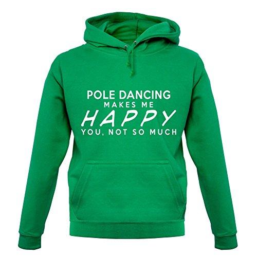 pole-dancing-makes-me-happy-unisex-pull-vert-clair-xxl
