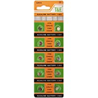 Act intercettazione senza mercurio a bottone alcaline AG0/LR63/LR521/379 (1,5 Volt, 10er Pack) - Mercurio Coin Set