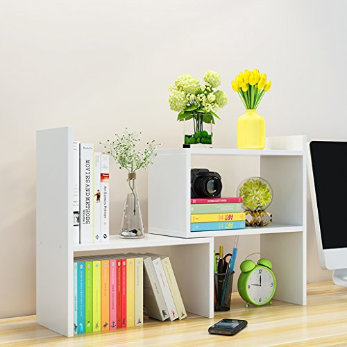HYLR japanisch-art diy kreativ woody Desktop kleine Bücherregale Ablage Rack Buch Regal, Speicher...