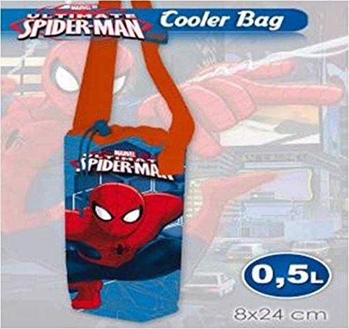 Borsa frigo spiderman 0.5 litri mare piscina pic nic idea regalo mct2109