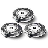 Desirabely Per Philips Norelco Serie 3000 1000 Testine per Rasoi Elettrici Uomo Lame Ricambio Testine di Rasatura Parti di Taglio Lame Rotanti per Uomo Una Rasatura Confortevole e Ravvicinata.