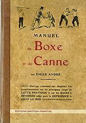MANUEL DE BOXE ET DE CANNE