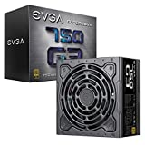 EVGA SuperNOVA 750 G3, 80 Plus Gold 750W, Fully Modular, Eco Modo con il nuovu sistema Hydro-Dinamico-Bearing , 10 anni Garanzia, include Power ON Self Tester, Compatto 150mm Misura, Alimentazione PC 220-G3-0750-X2