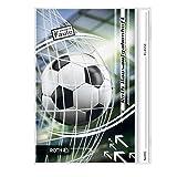 "ROTH Hausaufgabenheft Teens ""Fußball"", DIN A5"