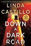 Front cover for the book Down a Dark Road by Linda Castillo
