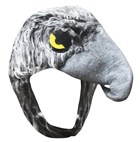 Petitebelle Eagle Hawk Hat Unisex Anzieh-Partei-Kostüm für Kinder Einheitsgröße Grau