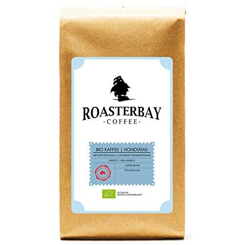 Roasterbay Bio Kaffee 1kg | Honduras | Premium - Ganze Bohne - Röstkaffee | 100% Arabica aus dem...