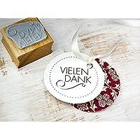 Stempel VIELEN DANK Danksagung DIY Gastgeschenk handmade