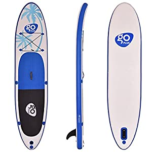 512pi%2BSovAL. SS300  - COSTWAY 10FT/11FT SUP Inflatable Stand Up Paddle Board W/Carry Bag, Repair Kit, Tail Vane, Adjustable Paddle, Hand Pump with Pressure Gauge, Ideal Beginners Soft Surfing Board Kit