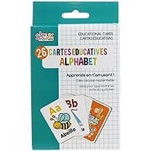 Jeux 2 Momes EA5014 Carte Educative Mots Papier Multicolore 7,90 x 12 x 0,10 cm