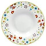 Van Well 6er Set Suppenteller Serie Vario Porzellan - Farbe wählbar, Farbe:flowers Vergleich