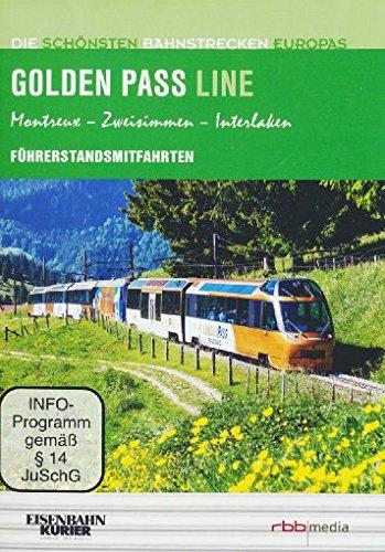 Golden Pass Line - Führerstandsmitfahrten - Montreux/Zweisimmen/Interlaken - Die schönsten Bahnstrecken Europas