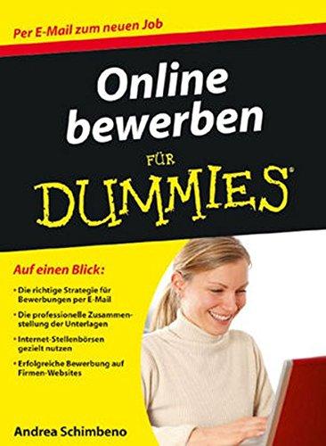 Online bewerben für Dummies