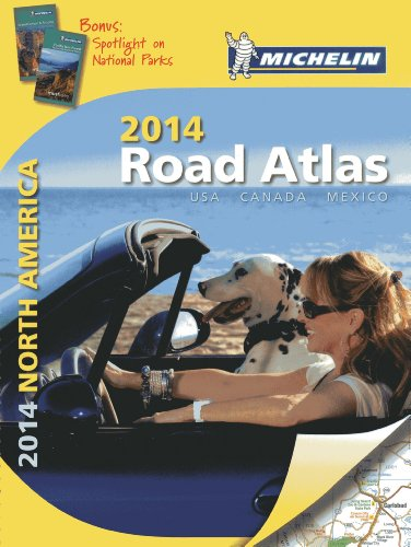 Michelin 2014 Road Atlas North America: USA, Canada, Mexico