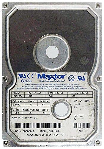 4.3 Gb Festplatte (4,3GB AT Festplatte Maxtor 84320D4 IDE ID8882)