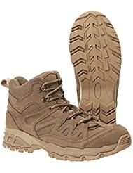 Brandit Mens Shoes Outdoor Trail Mid, Color:camel;Größe:44