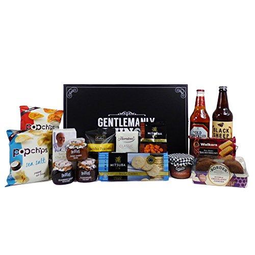 Cajas de Ale y Nibbles de lujo para él Presentado en una caja de regalo de recuerdo - Ideas de regalos para el Día de los Padres, Cumpleaños, Aniversario y Felicitaciones