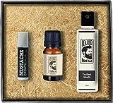 Beardo The Black Velvette Beard Fragrance Hair Oil - Beard Wash - Moustache Growth Roll-on Combo (Set of 3)