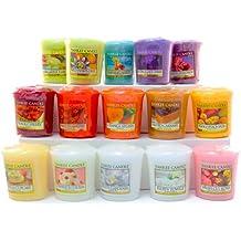 Yankee Candles–Pack di 15candele profumate in cera senza punta, Design tortine