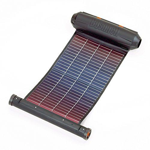 Bushnell, Pannello solare avvolgibile Powersync 250, 2X USB, adattatore AC