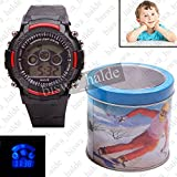 #3: Exclusive Kids Smart Style Sports Digital Multicolour Wrist Watch with light for Boy Girls