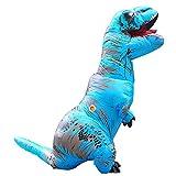 Aufblasbare Dinosaurier Kostüme Fasching Karneval Geburtstagsparty Rollenspiel Verkleidung für Erwachsene und Kinder