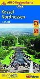 ADFC-Regionalkarte Kassel Nordhessen mit Tagestouren-Vorschlägen, 1:75.000, reiß- und wetterfest, GPS-Tracks Download (ADFC-Regionalkarte 1:75000)