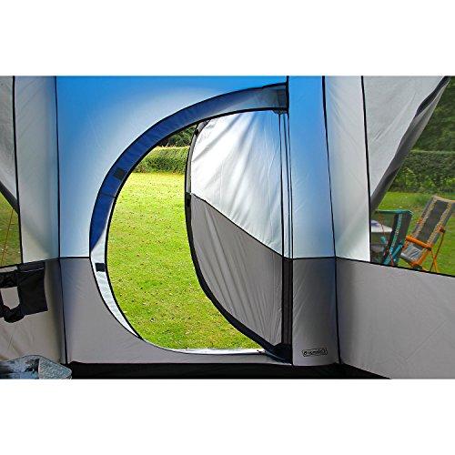 Coleman Zelt für 8 Personen Octagon 8 mit 7 Fenstern und patentierter D-Tür (Wasserdicht WS 2.000 mm) - 6