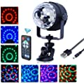 Dj Disco Stage Light , Florally Mini Dj Floor Light Room Decor Ball Light Dj Dance Light USB Operated Car Disco Light LED Light Effect Mini Ball Light For Christmas Party Decor Wall Light produced by Florally - quick delivery from UK.