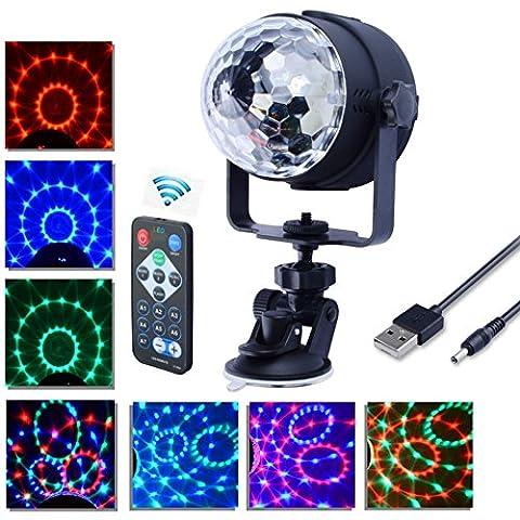 Lampe de Scène, Florally RGB DJ LED