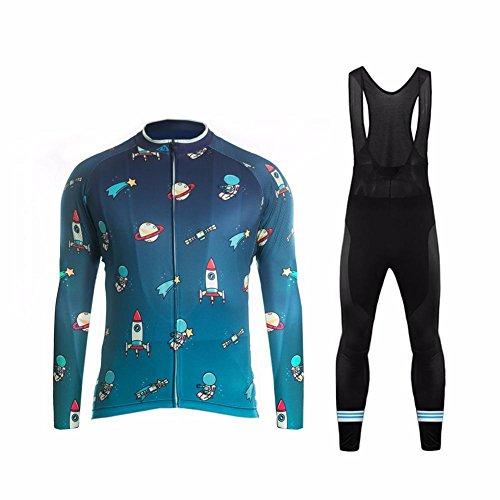 Uglyfrog #14 2017 Männer Radfahren Kleidung Set Kurze Hülse Trikots+Trägerhosen Anzüge Sportbekleidung Autumen with Fleece
