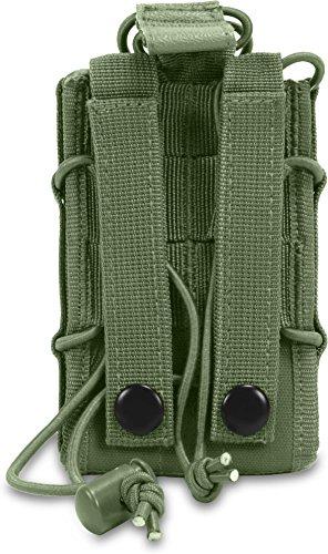Funkgerätetasche mit Molle Befestigungssystem OLIV