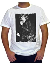 Johnny Hallyday: Men's T-shirt picture celebrity