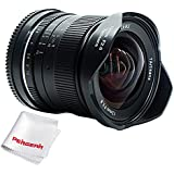 7artisans 12mm F2.8 Ultra Wide Angle Lens For Canon EOS M EF-M Mount Mirrorless Camera M1 M2 M3 M5 M6 M10 - Manual Focus Prime Fixed Lens