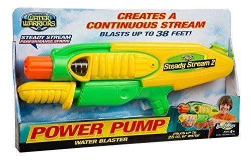 Water Warriors Steady Stream 2 Water Blaster by BuzzBeeToys (Schauen Slinky)
