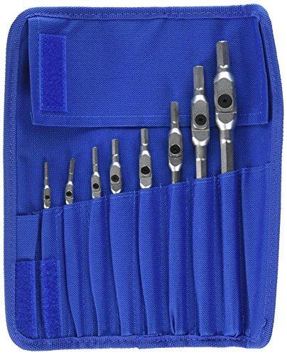 Pro Hex Wrench Set (Bondhus 00017 HEX-PRO Pivot Head Wrench Set, Includes Sizes: 1/8, 9/64, 5/32, 3/16, 7/32, 1/4, 5/16 & 3/8 (8 Piece), Chrome by Bondhus)