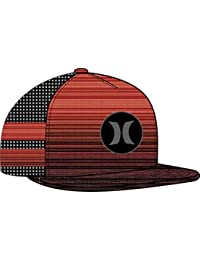 Hurley Block Party Code Trucker, Color: Gym Red, Size: Qty