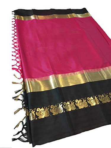 Premium Choice Latest Women Cotton Silk Saree with Blouse Piece (17 COLOR)...