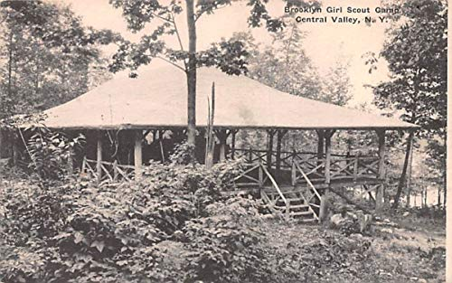 Brooklyn Girl Scout Camp Central Valley, New York Postcard
