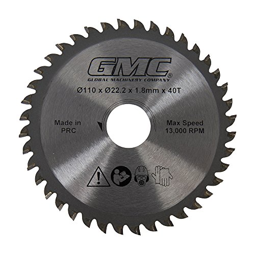 GMC Hartmetall-Sägeblatt GTS1500, 1 Stück, silber, 586371 (Gmc Kreissäge)