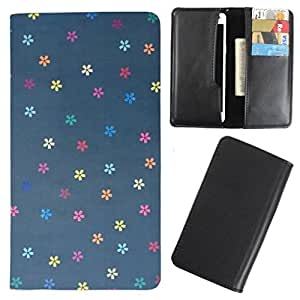 DooDa - For Salora E4 PU Leather Designer Fashionable Fancy Case Cover Pouch With Card & Cash Slots & Smooth Inner Velvet