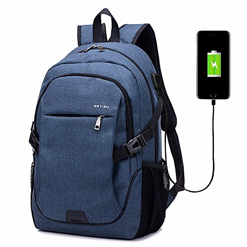 AILEESE Laptop Backpack Boys Girls 11-17Inch Notebook Computer Rucksack Waterproof School Bag for Teenagers Children's Usb charging (Notebook Kid)