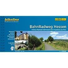 BahnRadweg Hessen: Entlang stillgelegter Bahntrassen durch Vogelsberg und Rhön, wetterfest/reißfest