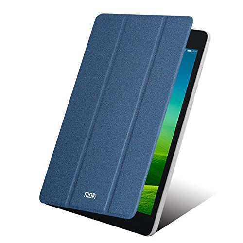 "Defender MOFI Smart Slim Leather Flip Tri Fold Stand Cover Case with Wake Sleep Sensor For India Xiaomi Mi Pad 7.9"" - DARK BLUE"