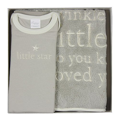 Bambino by Juliana - Twinkle Twinkle Blanket & Body Suit - 0 - 3 Months - CG946 by Bambino